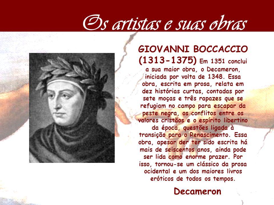 Os artistas e suas obras