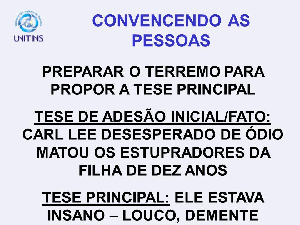 CONVENCENDO AS PESSOAS