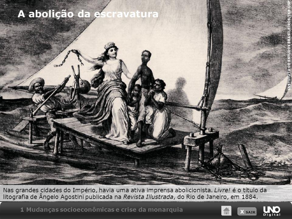 A abolição da escravatura