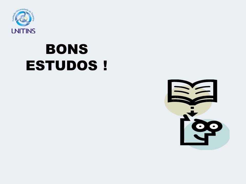 BONS ESTUDOS !