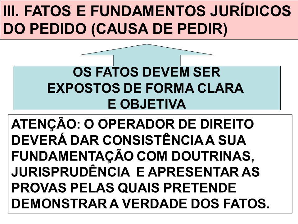 EXPOSTOS DE FORMA CLARA