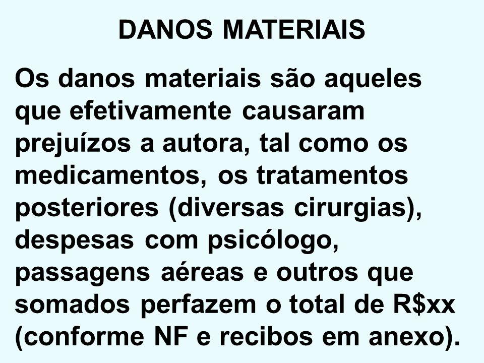 DANOS MATERIAIS