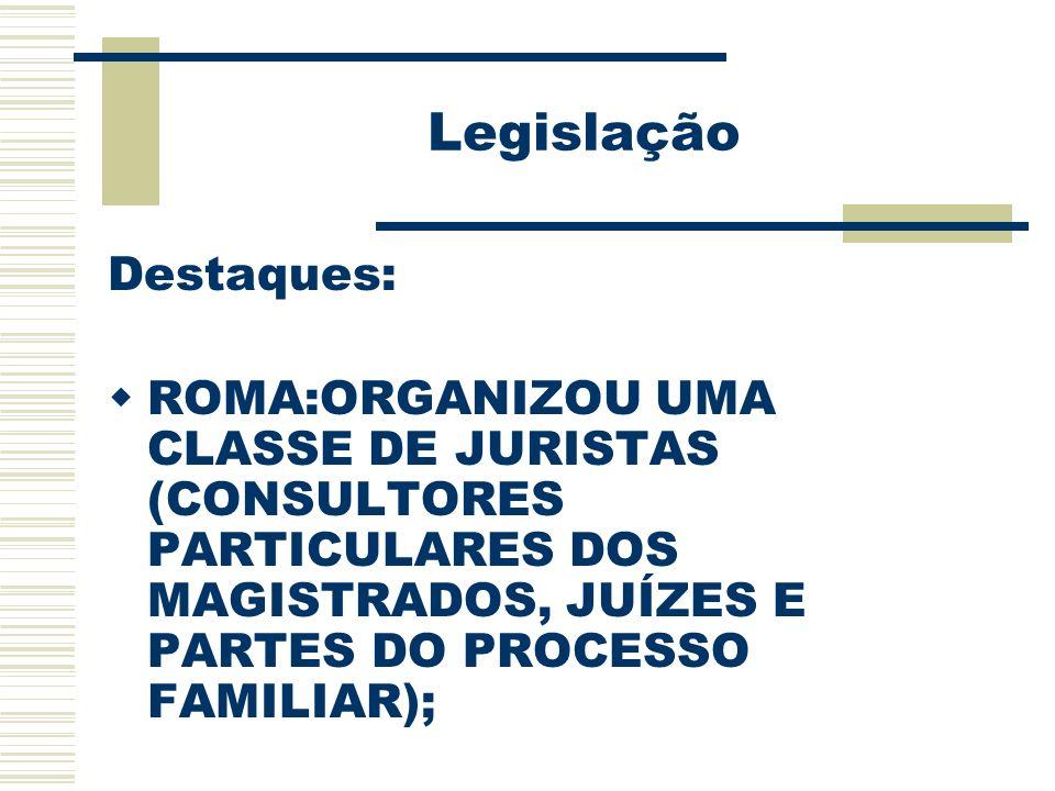 Legislação Destaques: