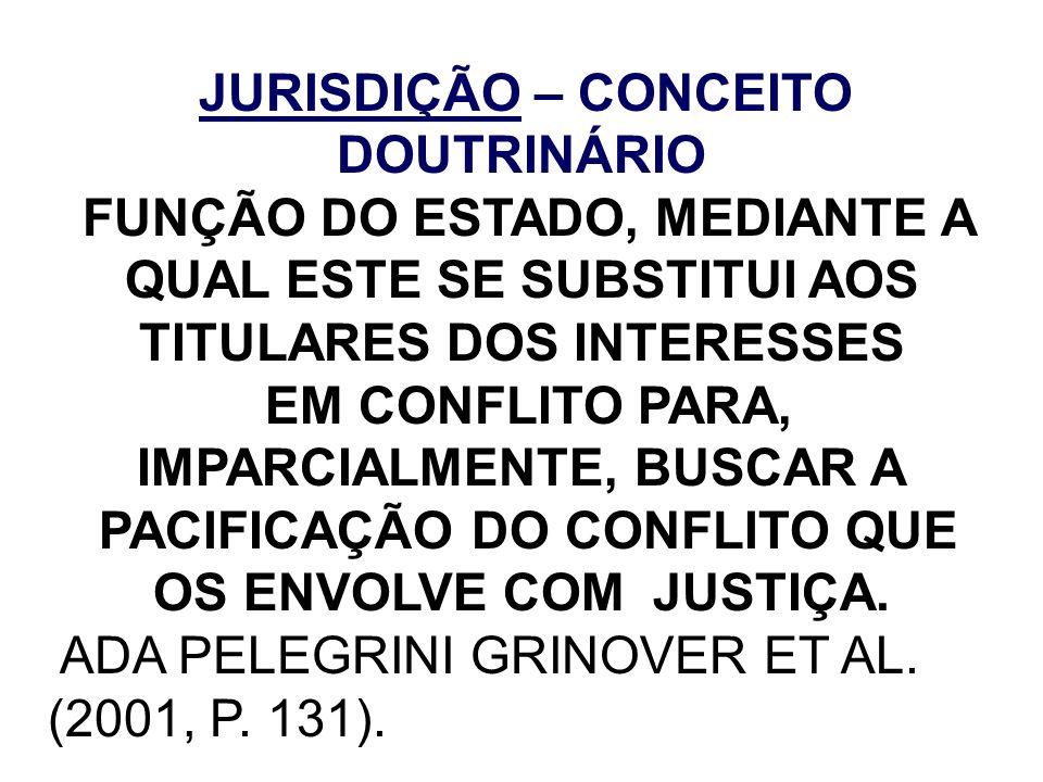 EM CONFLITO PARA, IMPARCIALMENTE, BUSCAR A