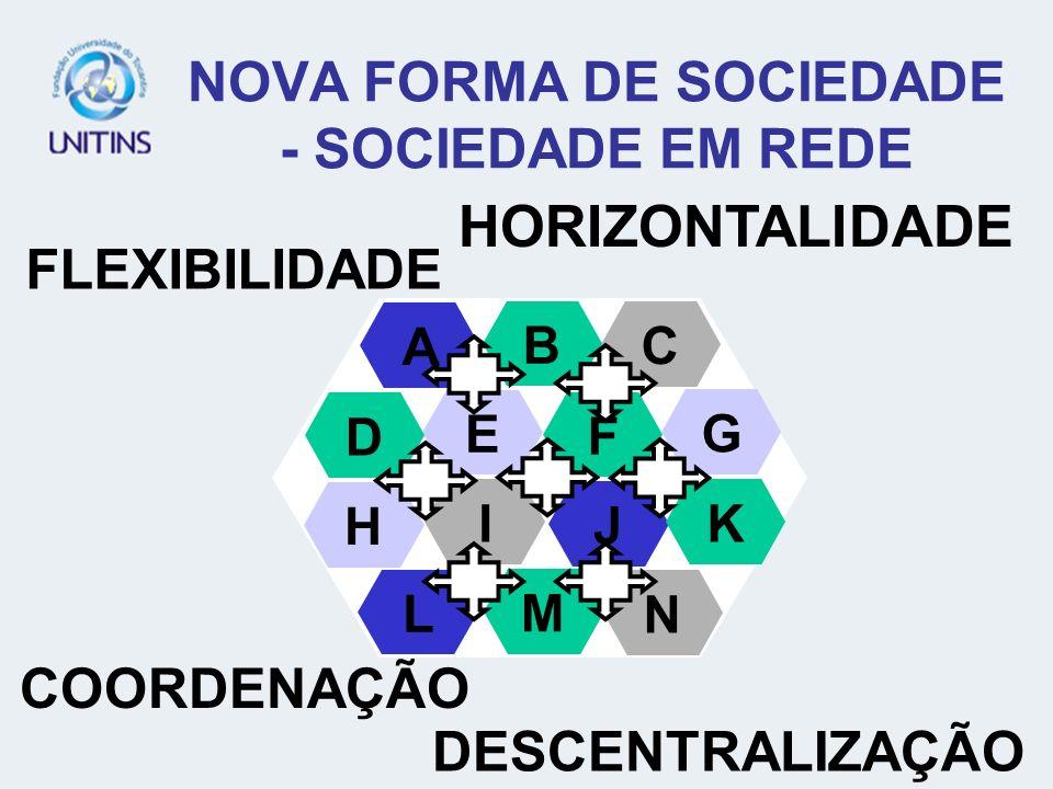 NOVA FORMA DE SOCIEDADE - SOCIEDADE EM REDE