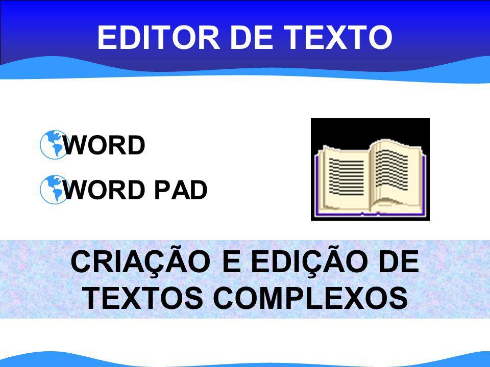 CRIAÇÃO E EDIÇÃO DE TEXTOS COMPLEXOS