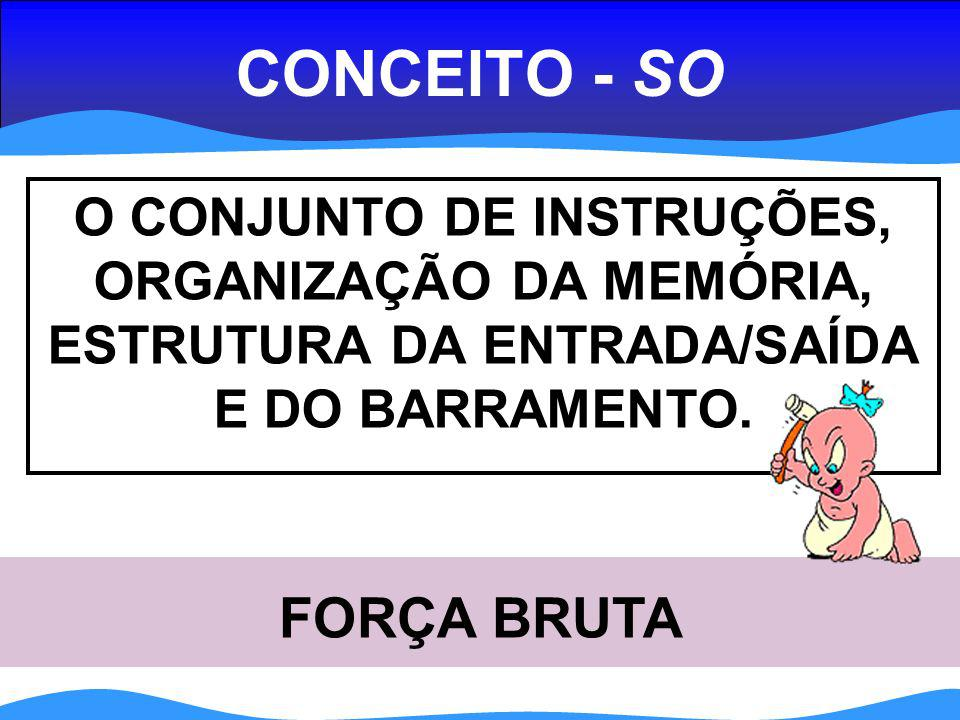 CONCEITO - SO FORÇA BRUTA