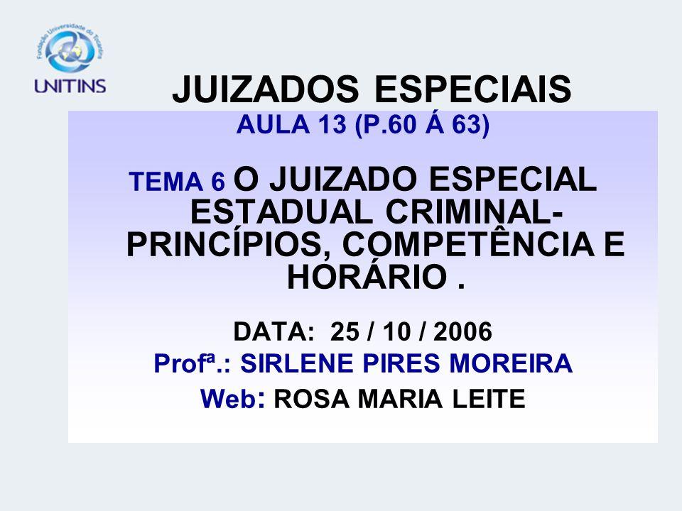 Profª.: SIRLENE PIRES MOREIRA