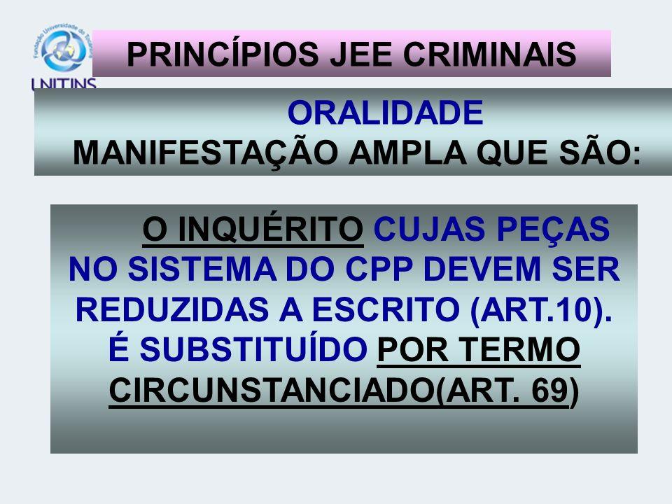 PRINCÍPIOS JEE CRIMINAIS