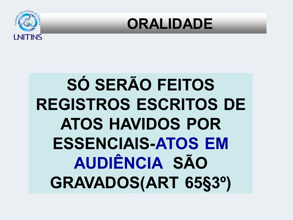 ORALIDADE D.