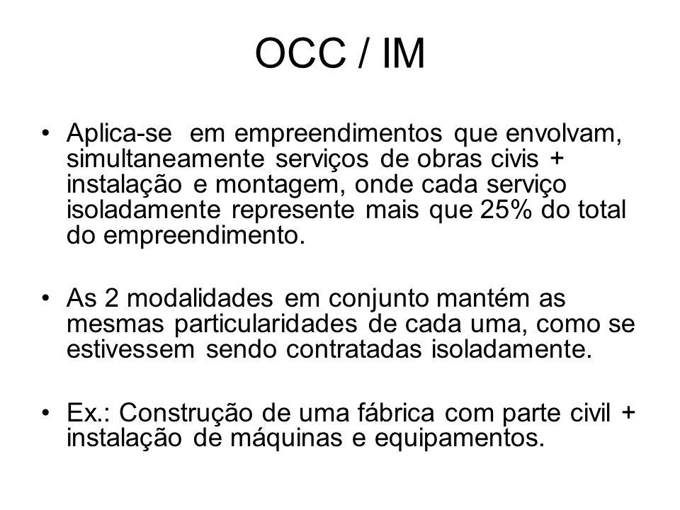 OCC / IM