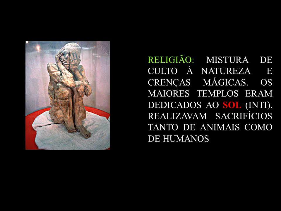 RELIGIÃO: MISTURA DE CULTO À NATUREZA E CRENÇAS MÁGICAS