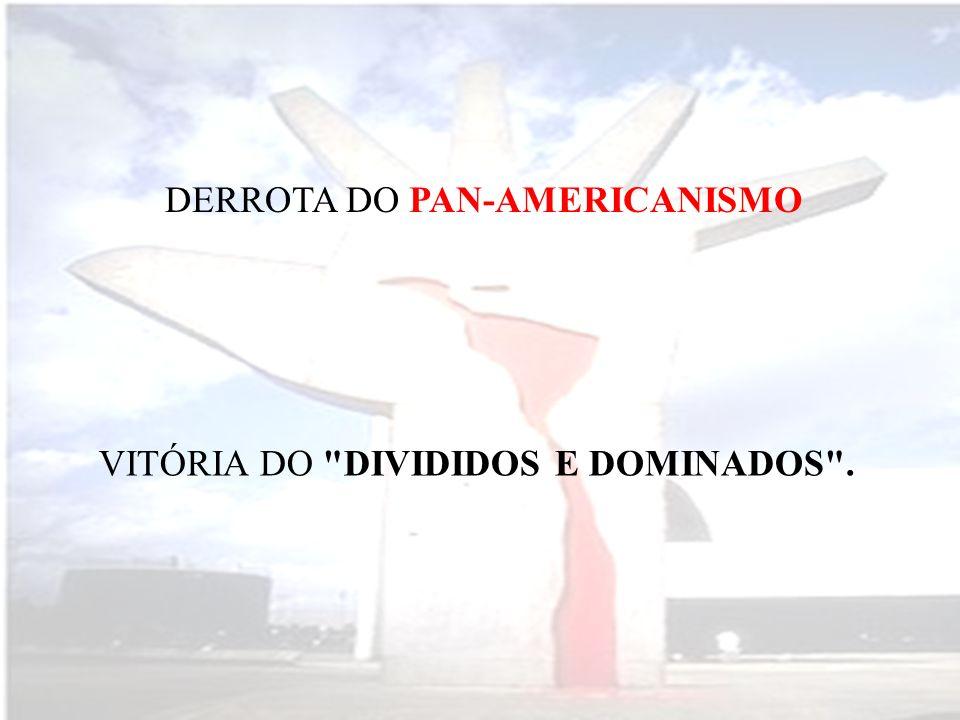 DERROTA DO PAN-AMERICANISMO
