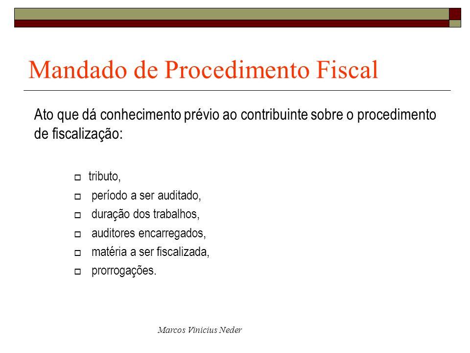 Mandado de Procedimento Fiscal