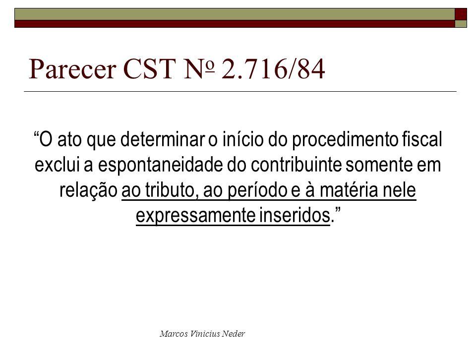 Parecer CST No 2.716/84