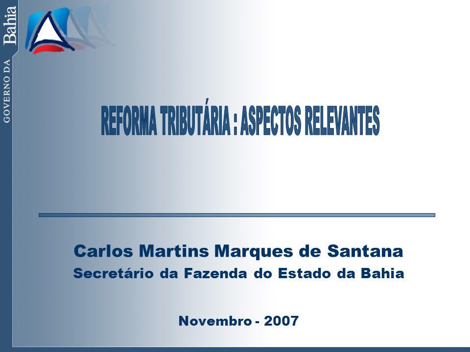 REFORMA TRIBUTÁRIA : ASPECTOS RELEVANTES