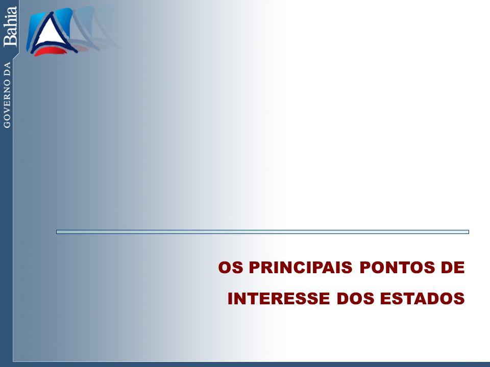 OS PRINCIPAIS PONTOS DE