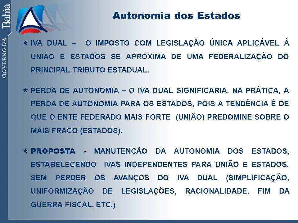 Autonomia dos Estados