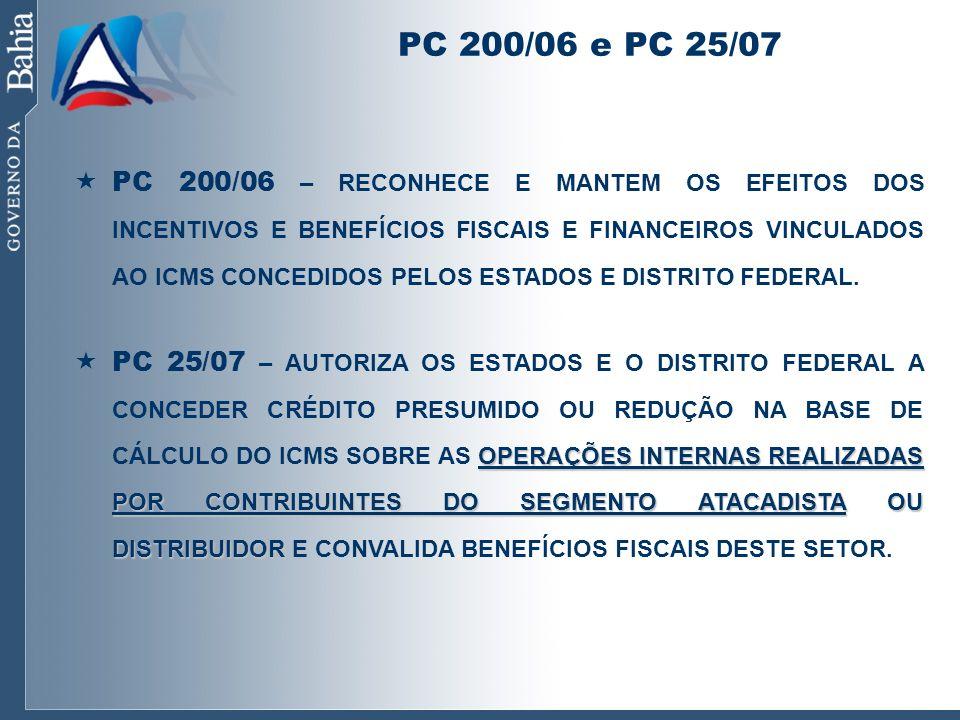 PC 200/06 e PC 25/07