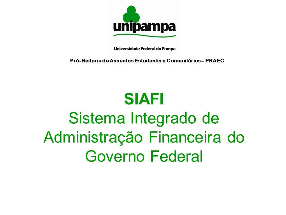 Sistema Integrado de Administração Financeira do Governo Federal