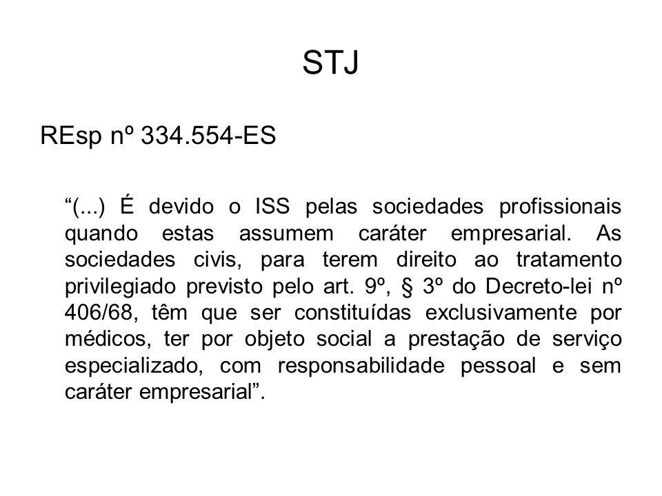 STJ REsp nº 334.554-ES.