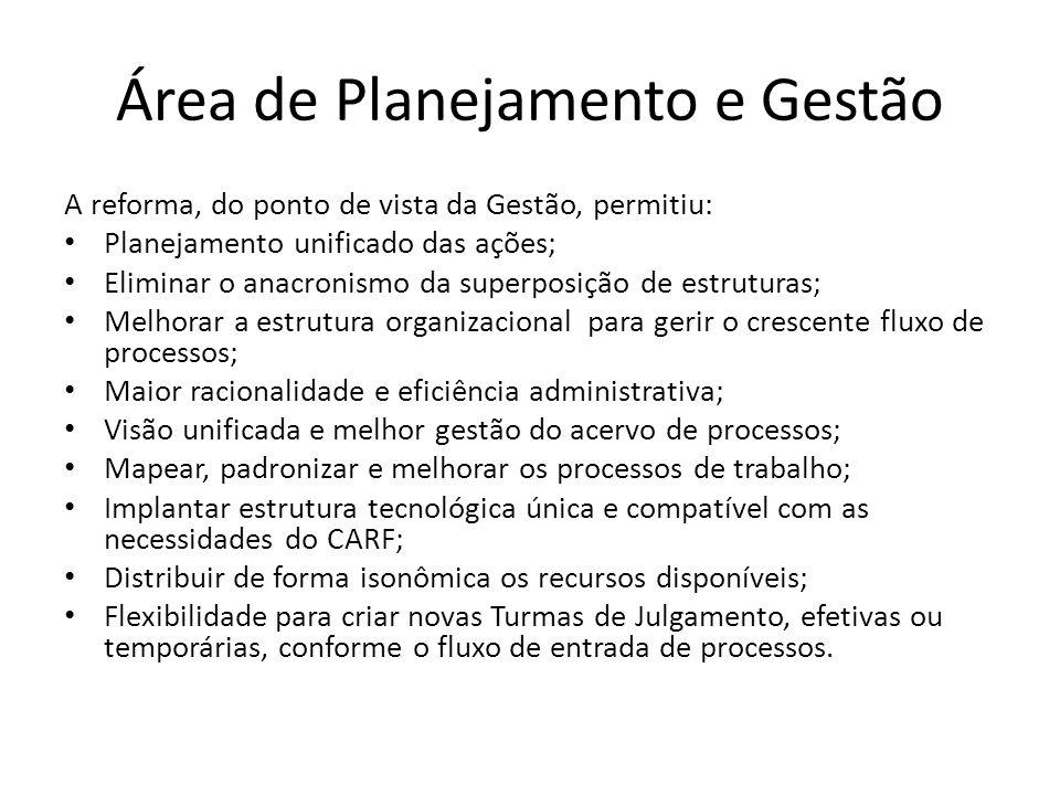 Área de Planejamento e Gestão