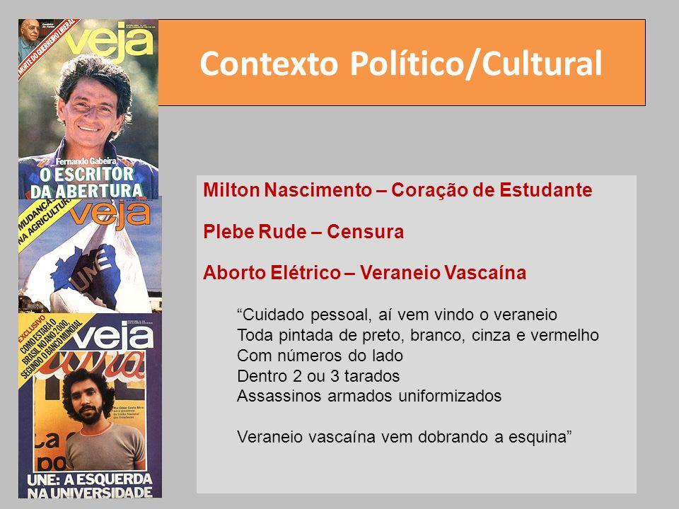 Contexto Político/Cultural