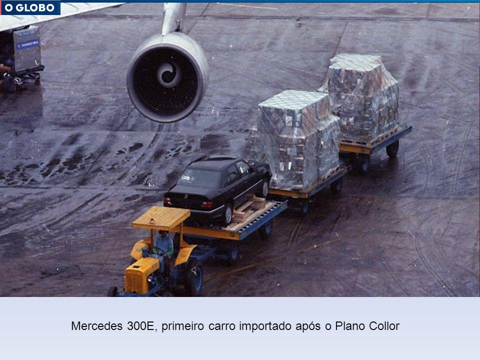Mercedes 300E, primeiro carro importado após o Plano Collor