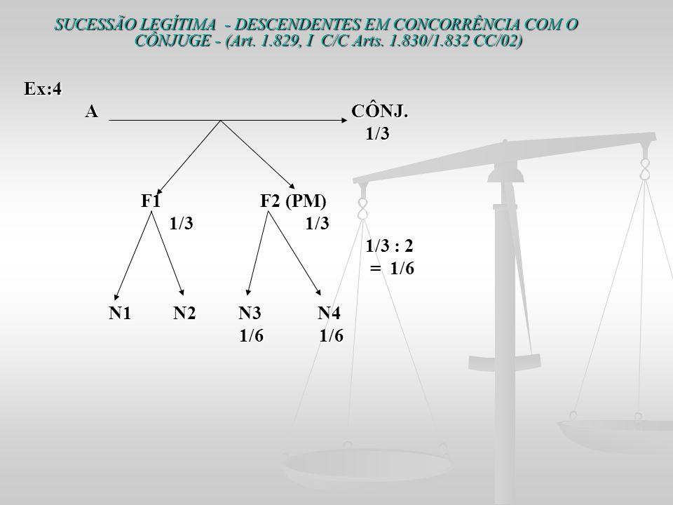 A CÔNJ. 1/3 F1 F2 (PM) 1/3 1/3 1/3 : 2 = 1/6 N1 N2 N3 N4 1/6 1/6