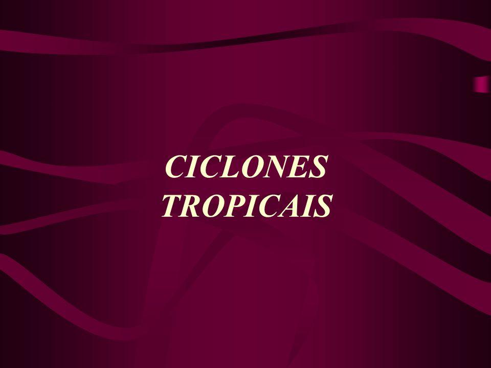 CICLONES TROPICAIS