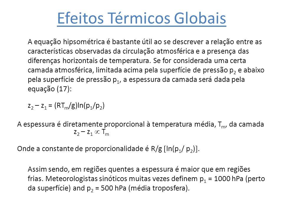 Efeitos Térmicos Globais