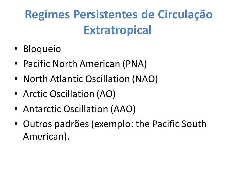 Regimes Persistentes de Circulação Extratropical