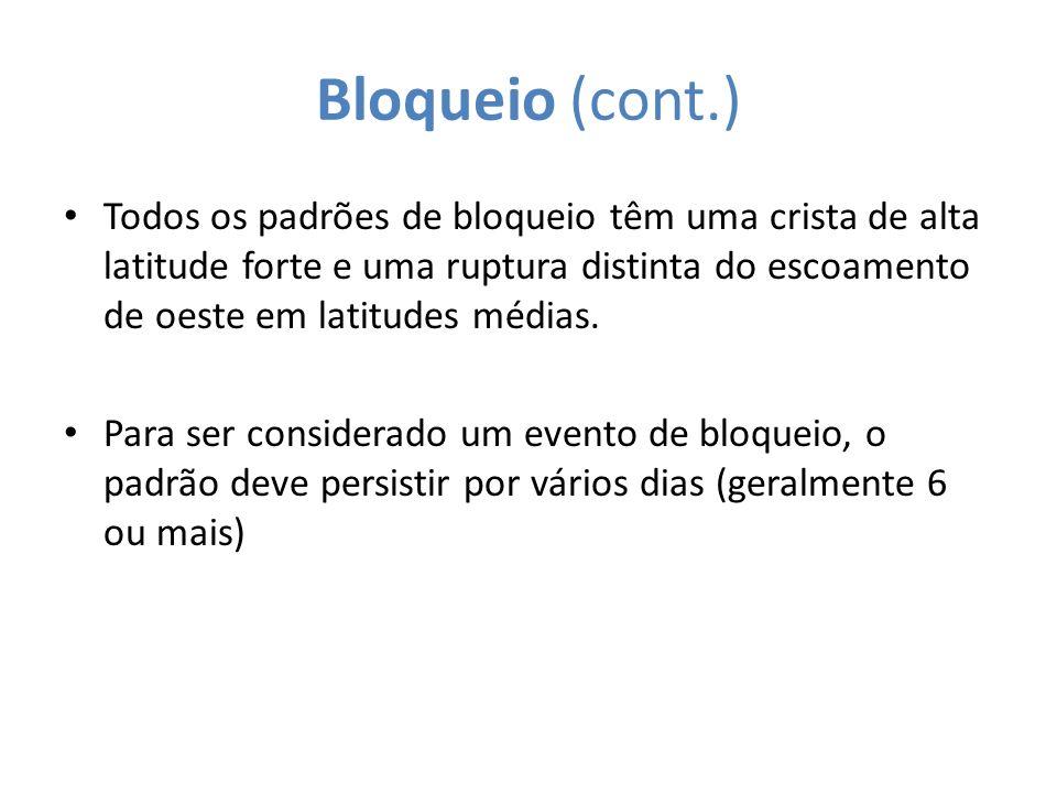 Bloqueio (cont.)