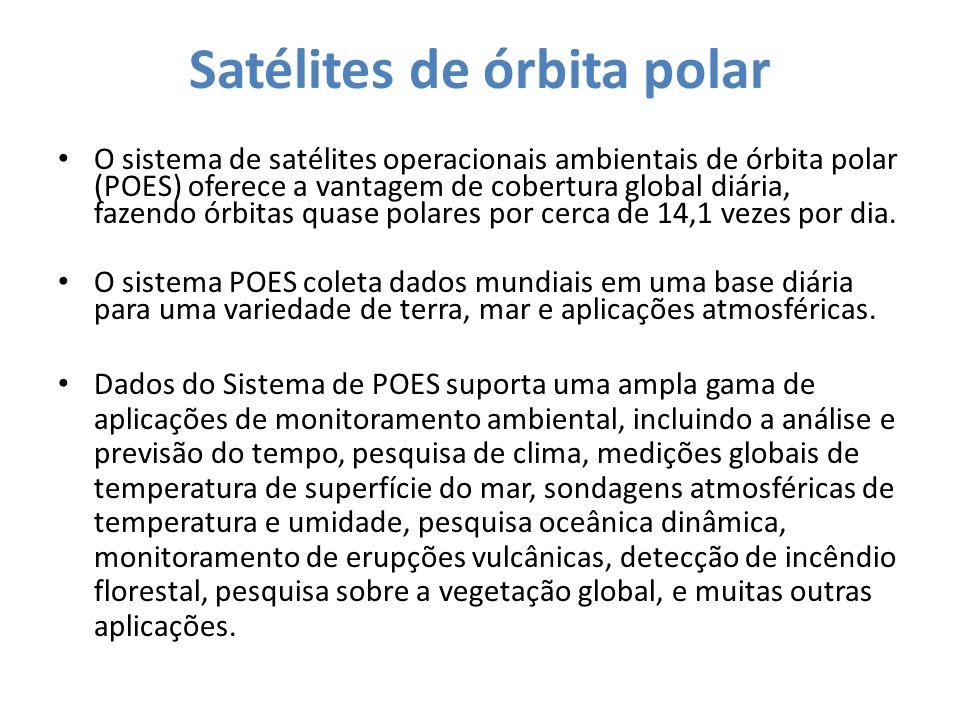 Satélites de órbita polar