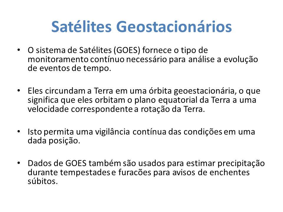 Satélites Geostacionários