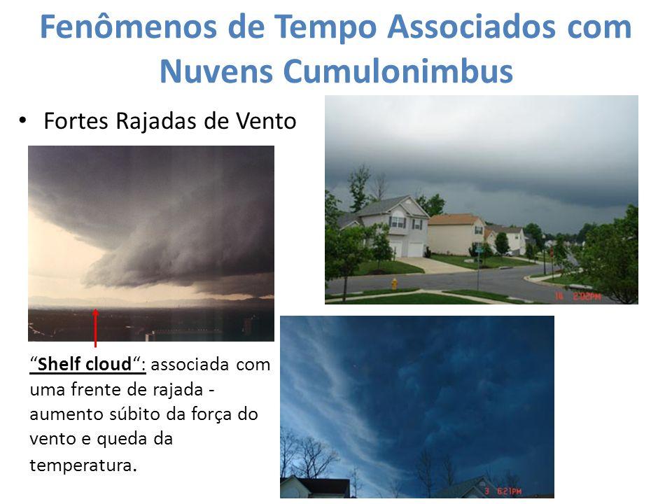 Fenômenos de Tempo Associados com Nuvens Cumulonimbus