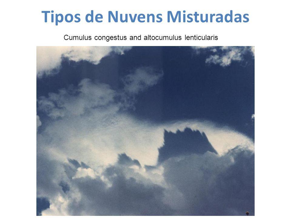 Tipos de Nuvens Misturadas