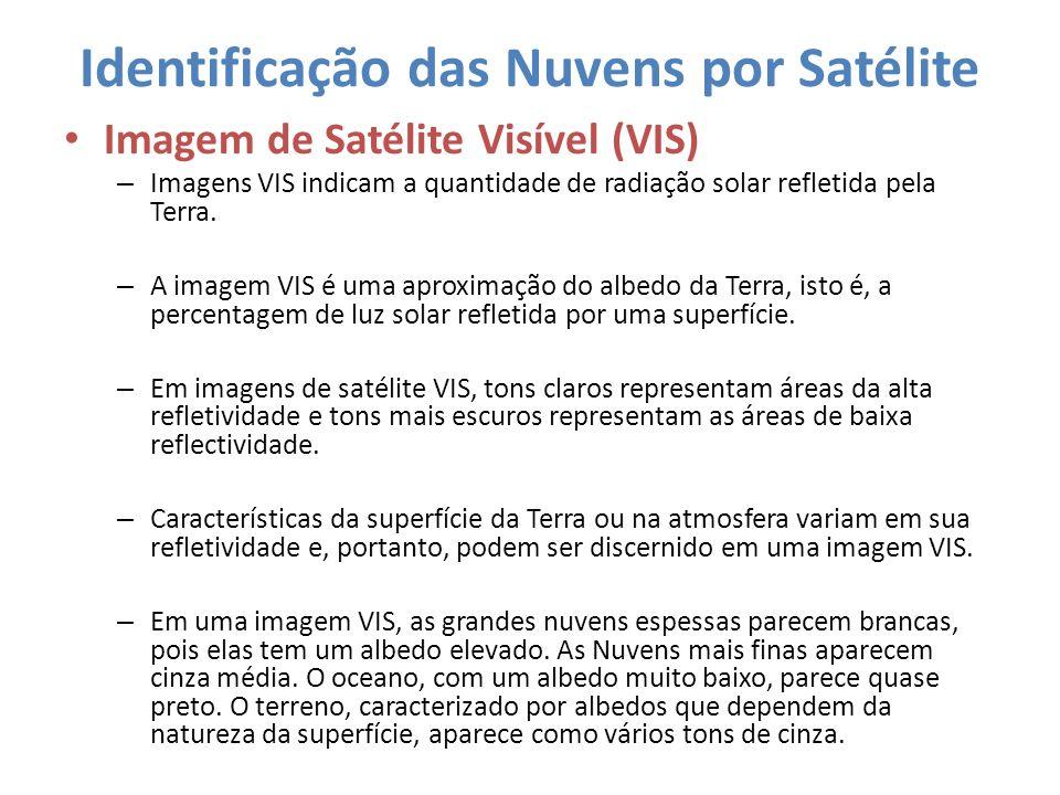 Identificação das Nuvens por Satélite