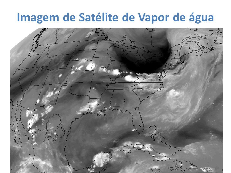 Imagem de Satélite de Vapor de água