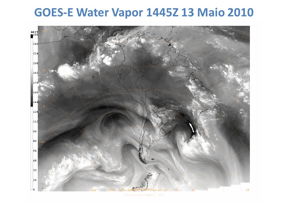 GOES-E Water Vapor 1445Z 13 Maio 2010