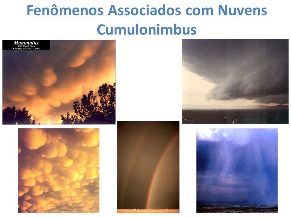Fenômenos Associados com Nuvens Cumulonimbus