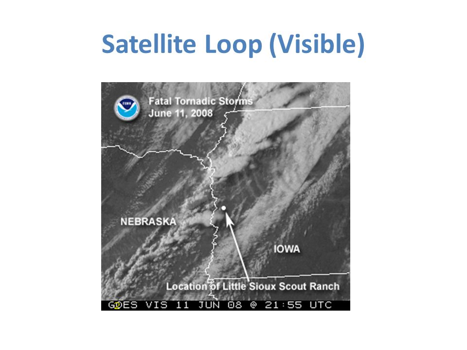 Satellite Loop (Visible)