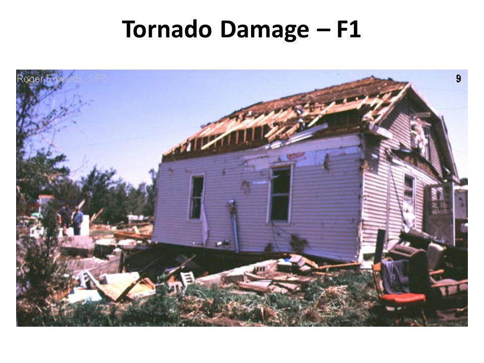 Tornado Damage – F1