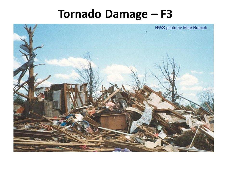 Tornado Damage – F3