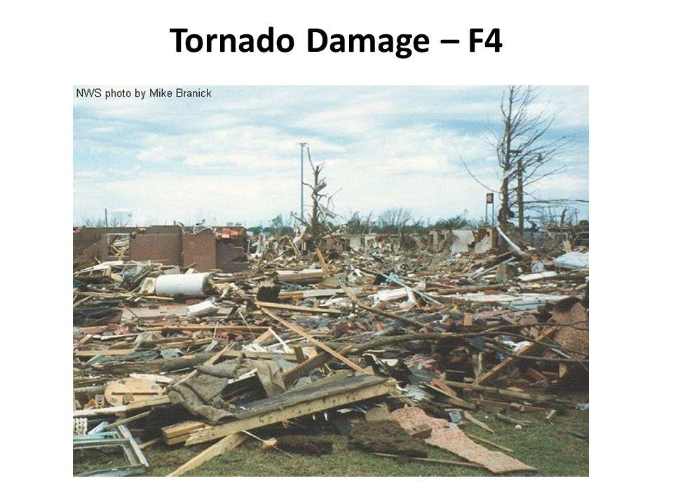 Tornado Damage – F4