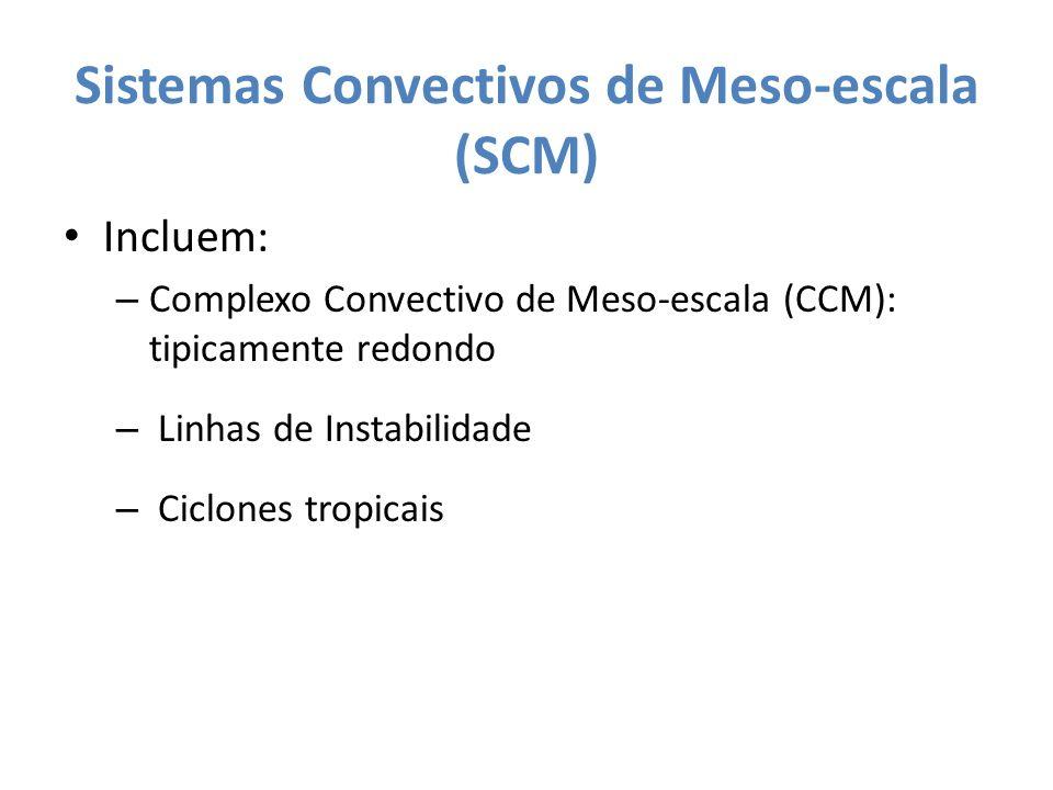 Sistemas Convectivos de Meso-escala (SCM)