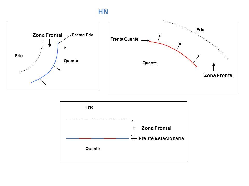 HN Zona Frontal Zona Frontal Zona Frontal Frente Estacionária Frio