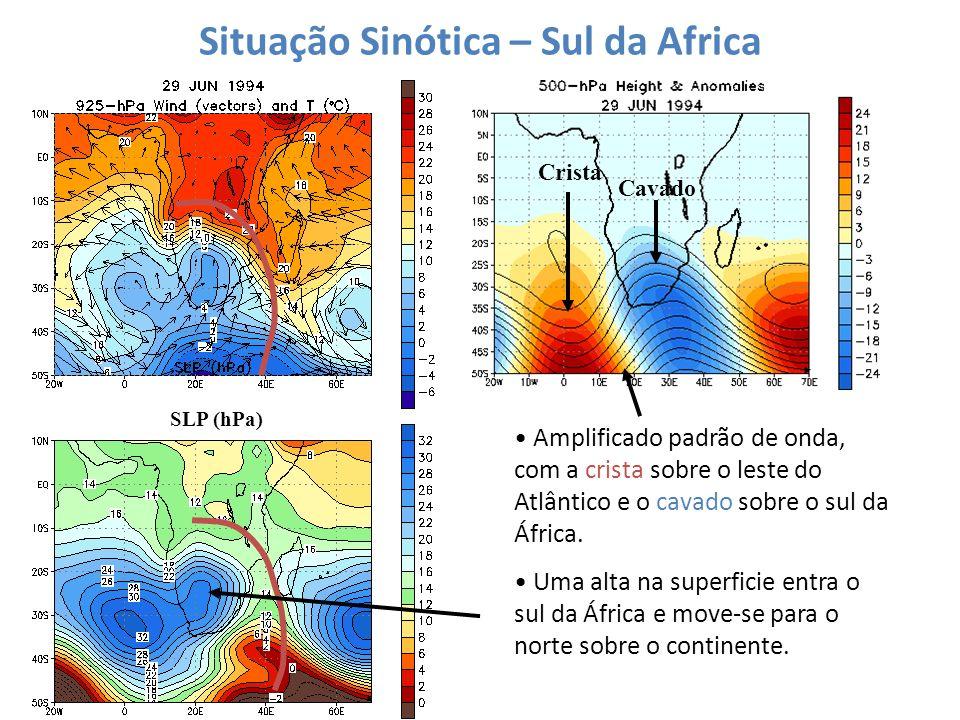 Situação Sinótica – Sul da Africa
