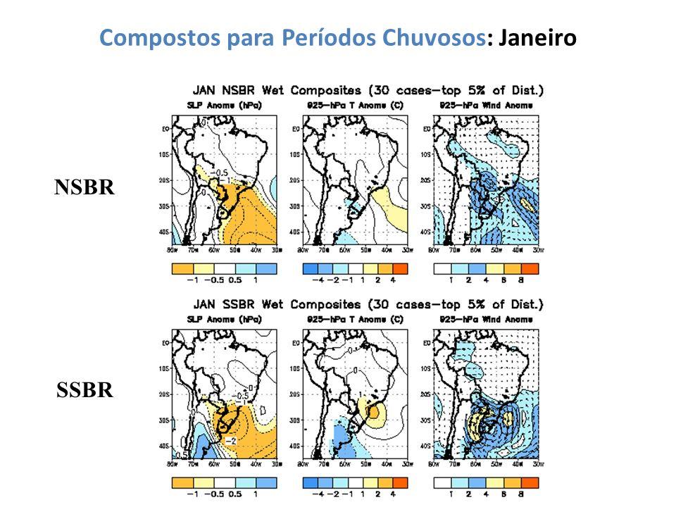 Compostos para Períodos Chuvosos: Janeiro