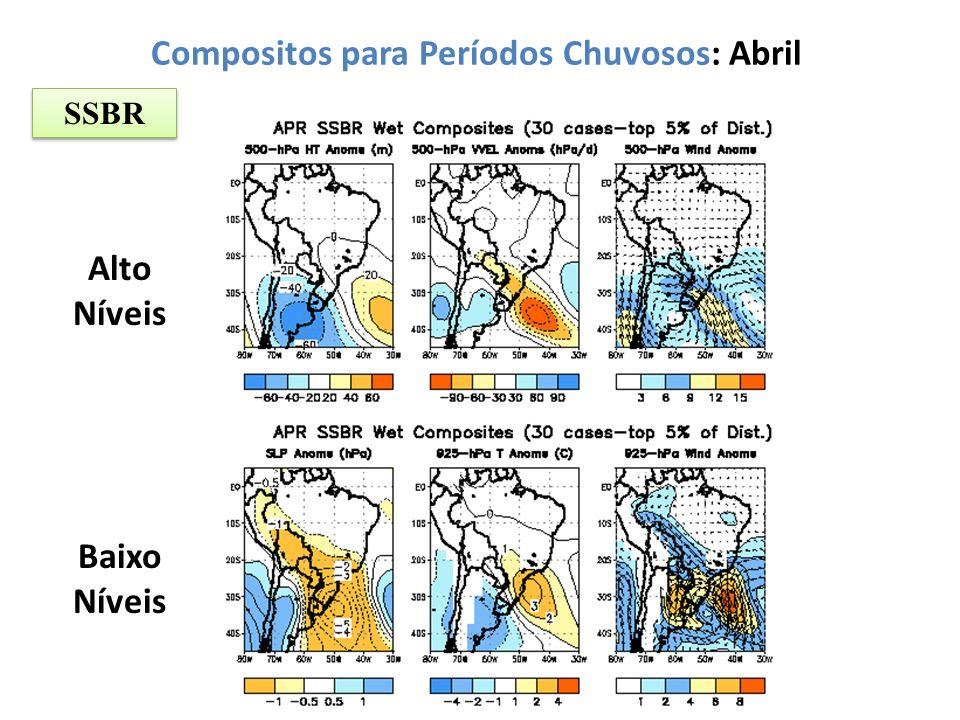 Compositos para Períodos Chuvosos: Abril